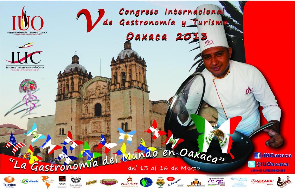 V Congreso Internacional de Gastronomía y Turismo Oaxaca 2013