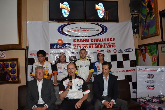 """Presentan """"El Cablecom Grand Challenge"""" de LATAM F2000"""