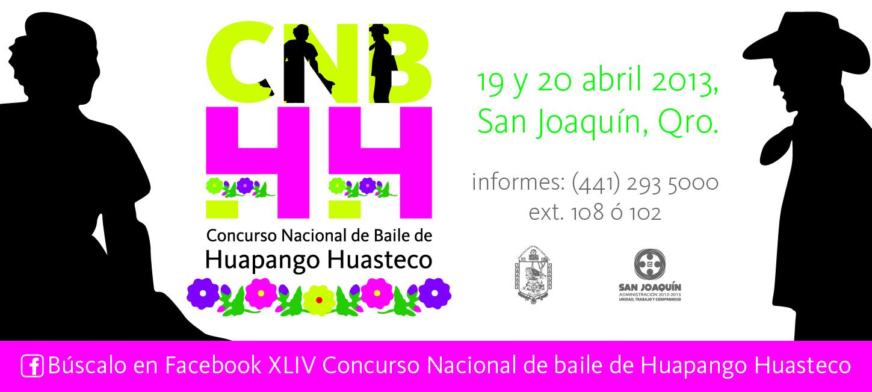 19 y 20 de Abril – Concurso Nacional de Baile de Huapango Huasteco