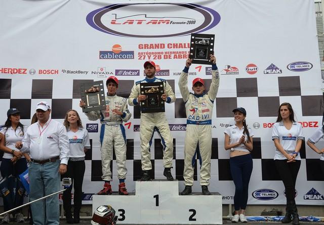 Francisco Cerullo conquista el AHR durante el debut de la temporada de LATAM F2000