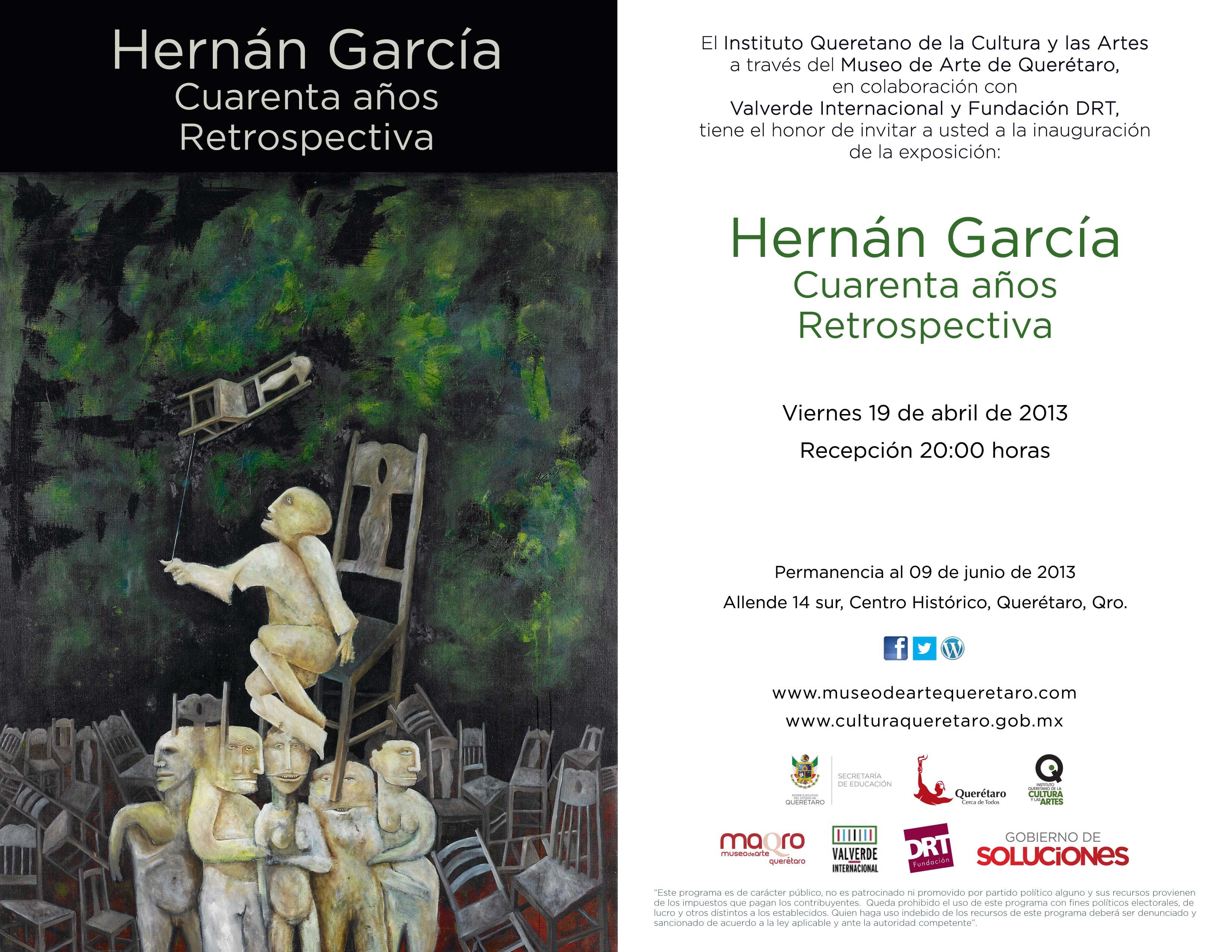 Hernan Garcia – 40 años retrospectiva