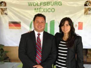 Mariana de Alba y Juan Gonzales - Wolfsburg México