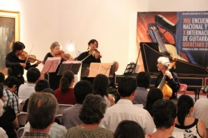 Da inicio el XVII Encuentro Nacional y X Internacional de Guitarra Querétaro 2013