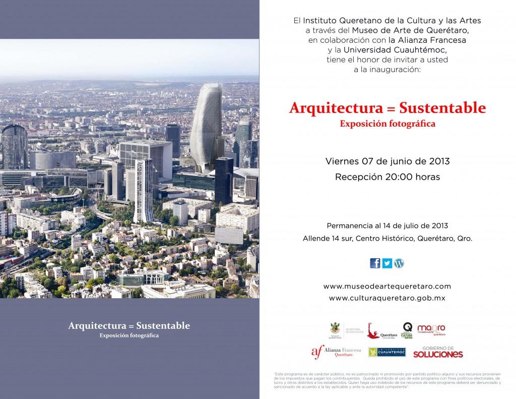 Arquitectura Sustentable - Exposición Fotográfica