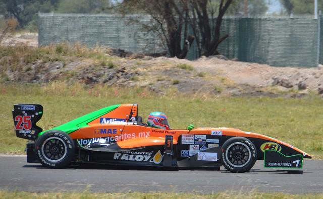 Concluye Daniel Duval dentro del Top 5 en LATAM F2000 Guadalajara