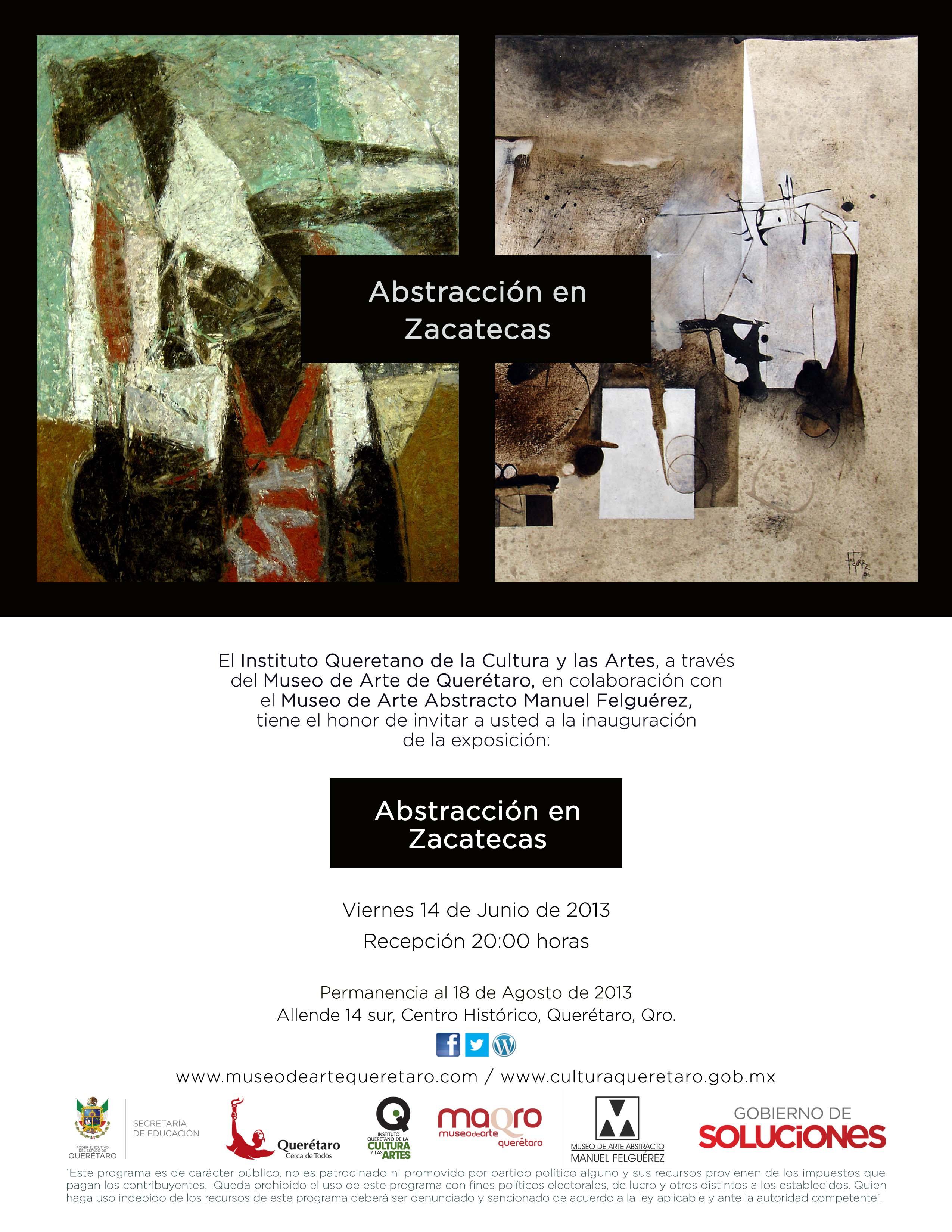 Exposición: Abstracción en Zacatecas