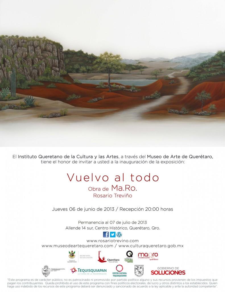 """Exposición """"Vuelvo al Todo"""" en el MaQro"""