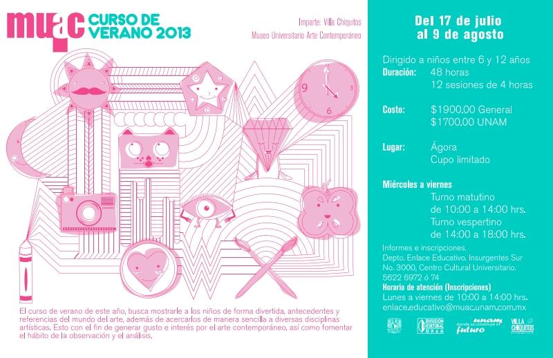 Invitacion curso de verano MUAC – Villa Chiquitos