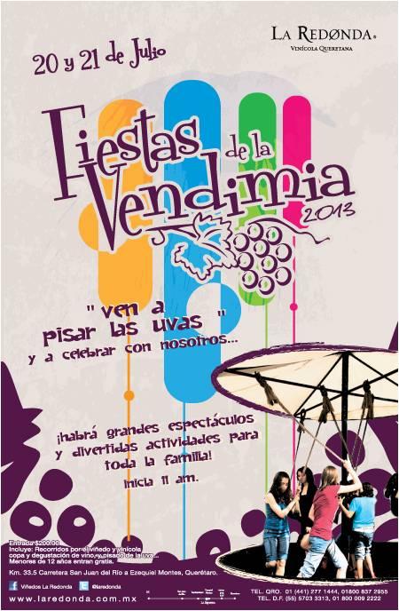 Vendimia 2013 en Viñedos La Redonda – 20 y 21 de Julio