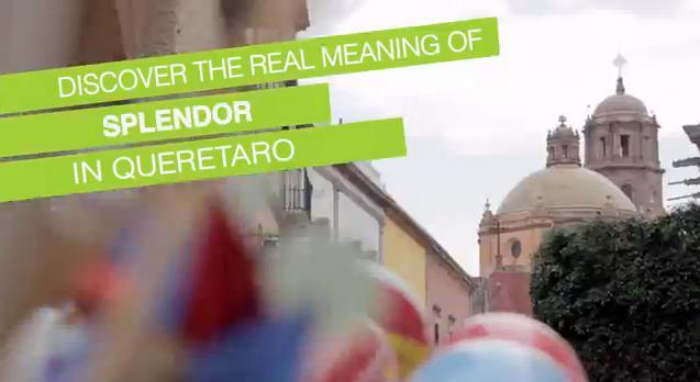 Gana video turístico de Querétaro galardón internacional