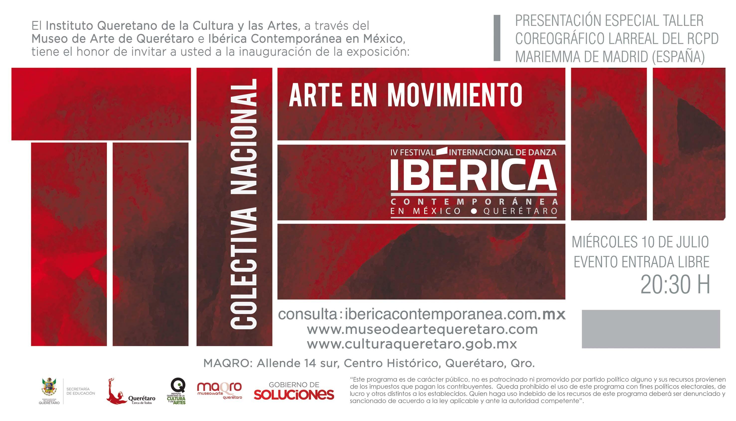 Invitación: Expo Arte en Movimiento