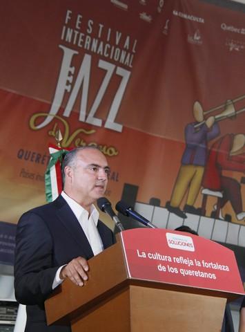Inaugura el Gobernador del Estado el Festival Internacional de Jazz de Verano Querétaro – Montreal 2013
