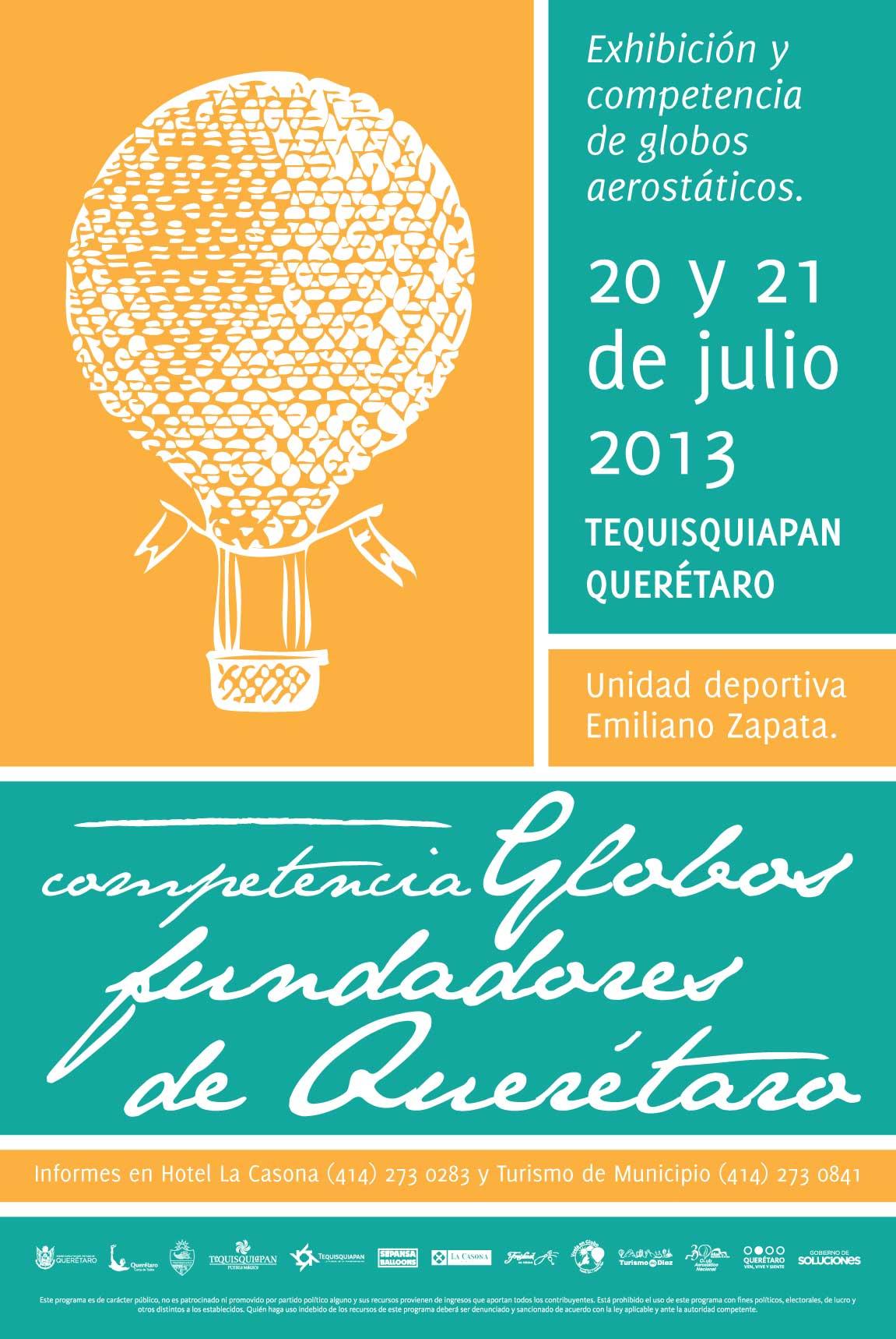 """Exhibición y Competencia """"Globos Fundadores de Querétaro"""""""