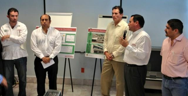 Presentan Programa de Inversiones para el AIQ