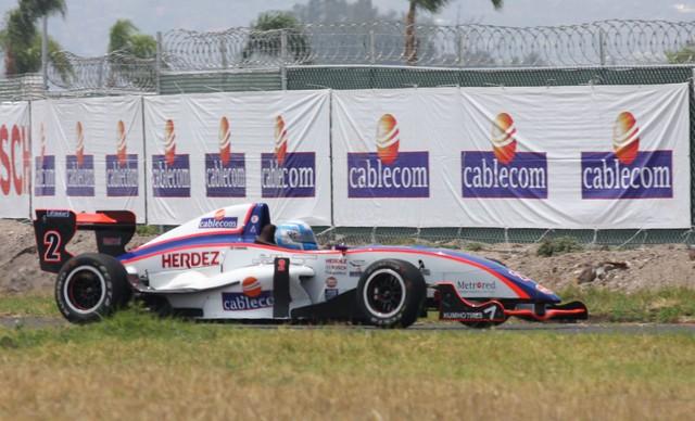 José Carlos Sandoval, listo para ganar el Cablecom Grand Prix de LATAM F2000