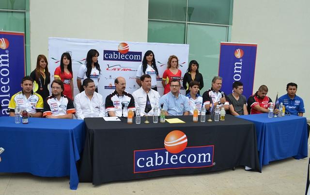 "Bandera de salida al ""Cablecom Grand Prix"" de San Luis Potosí"
