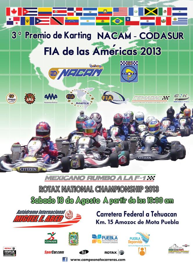 3er Premio de Karting NACAM – CODASUR