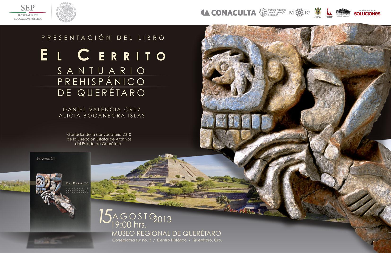 Presentacion del Libro: El Cerrito, Santuario Prehispánico de Querétaro