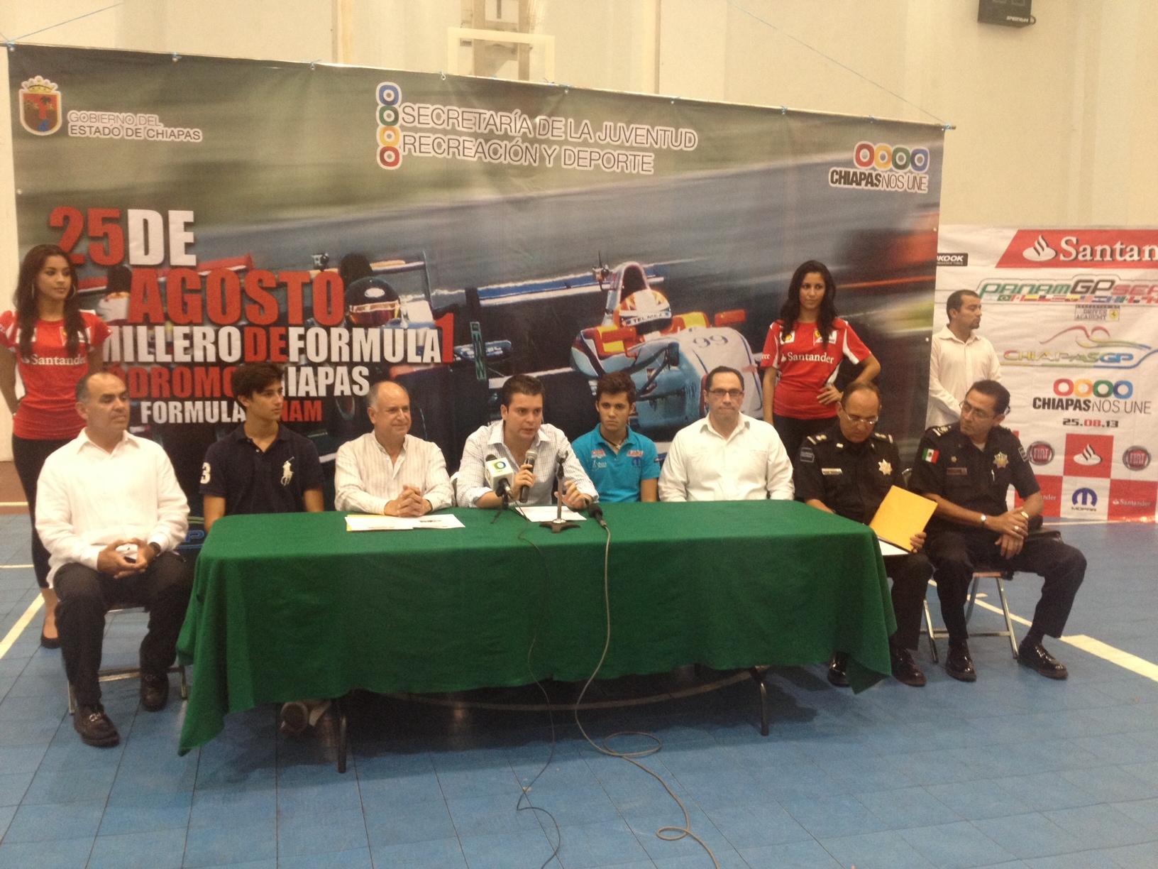 El Santander PANAM GP Series ya esta en Chiapas