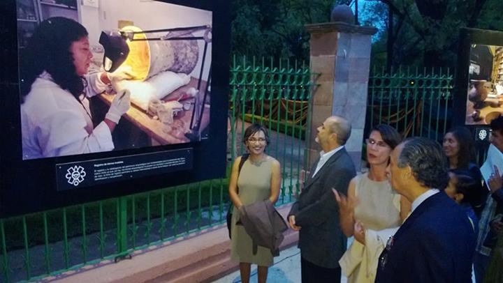 Muestran la labor del INAH en la Galería Alameda Hidalgo