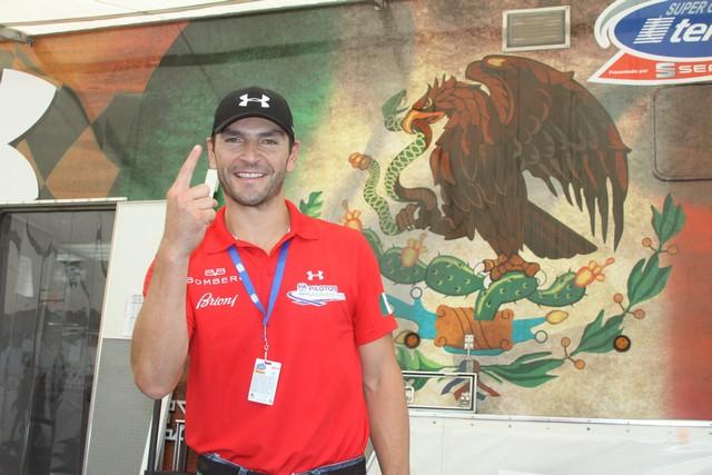 Martin Fuentes se quedo con la Pole en la Super Copa de Querétaro