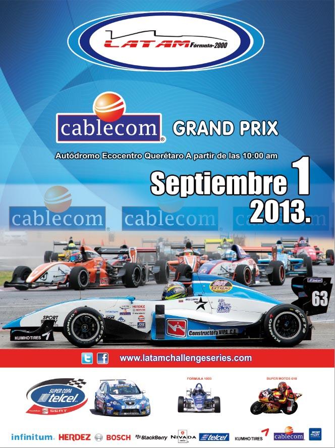 Regresan los Fórmula más rápidos de Latinoamérica a Querétaro y prometen romper todas las marcas