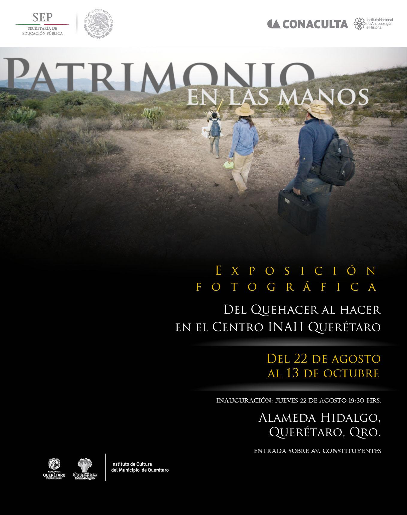 Patrimonio en la manos. Del quehacer al hacer en el Centro INAH Querétaro