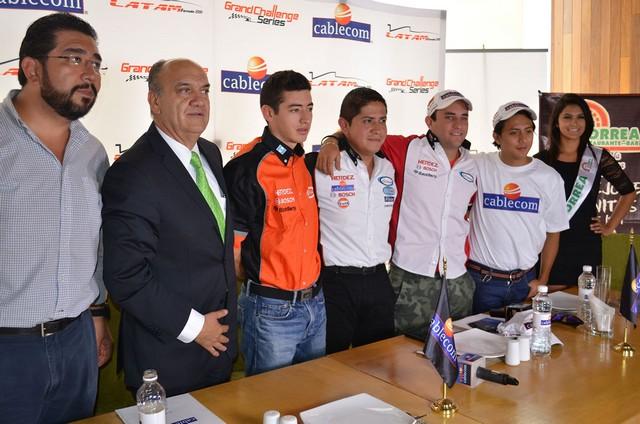 """Listo el """"Cablecom Grand Prix"""" de Querétaro, sexta fecha de LATAM F2000"""