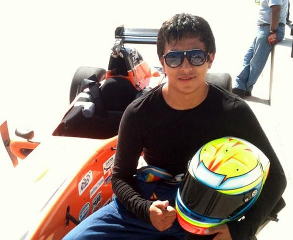 """Sergio Muñoz, el piloto de casa para el """"Cablecom Grand Prix"""""""