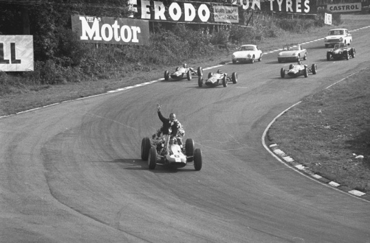 The Jim Clark Victory Parade…at Brands