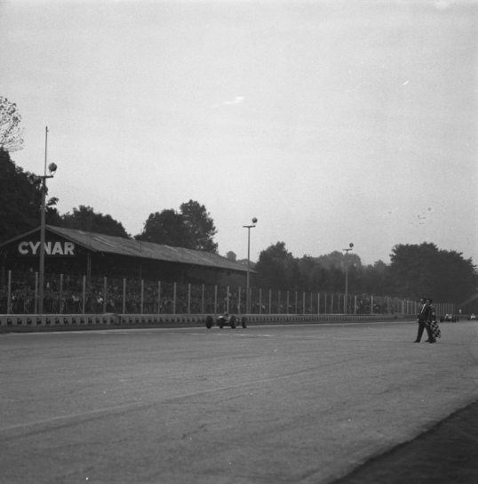 Victory at Monza