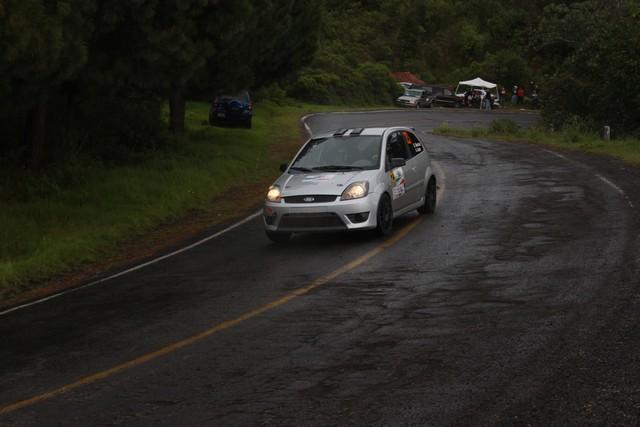 Gustavo Sánchez satisfecho con los resultados y su participación en el Rally Patrio