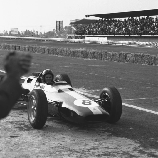 Jim Clark in Mexico: 66% at 7,000ft