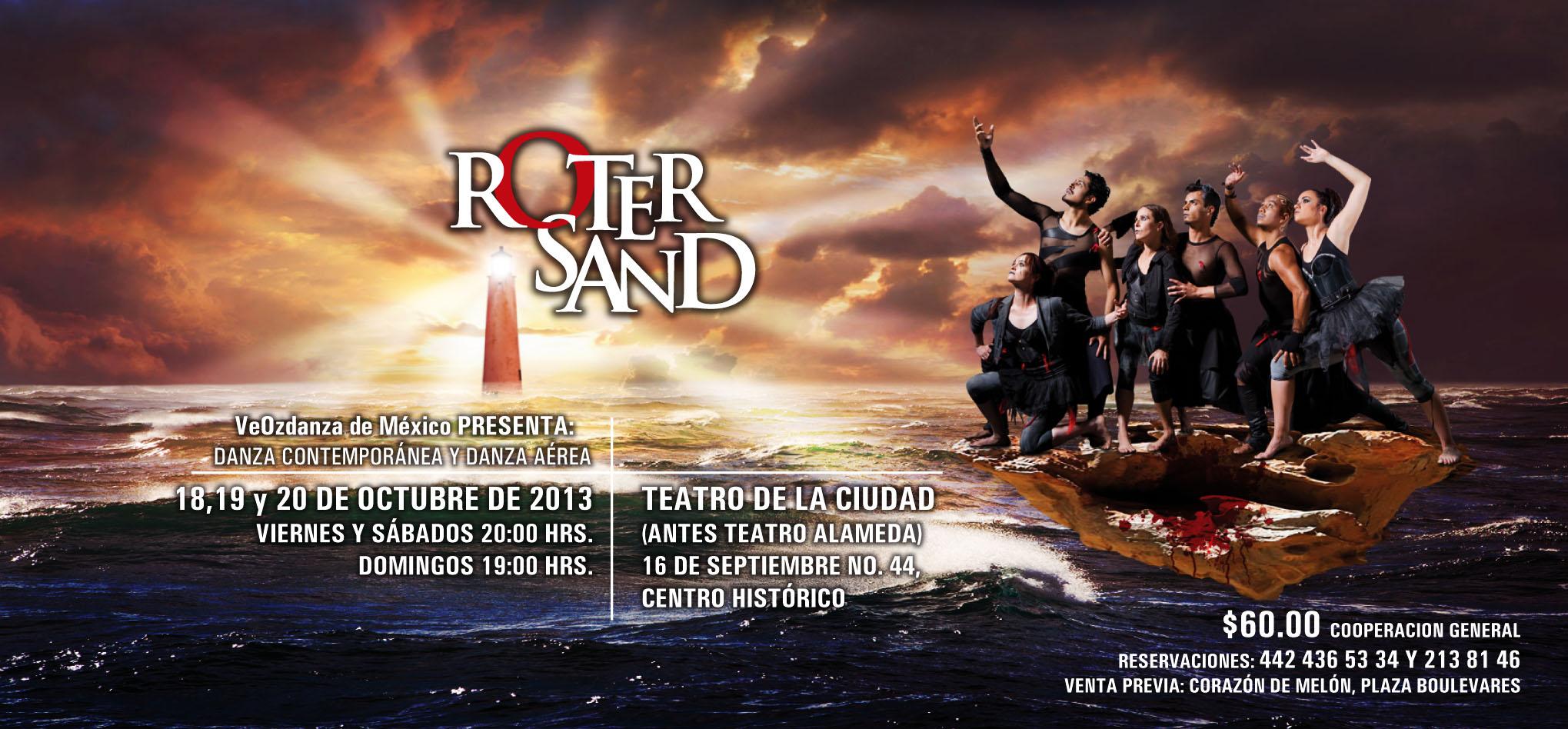 Roter Sand – Danza contemporánea y danza aérea