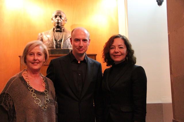 Asiste la Directora del Anglo Art Mexican Foundation a concierto del XIII Festival de Música Antigua
