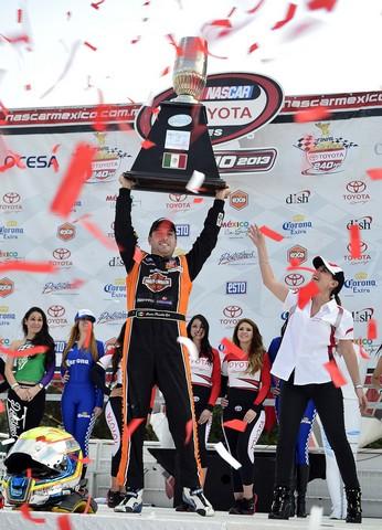 Rodrigo Peralta Campeon de Nascar Toyota Series