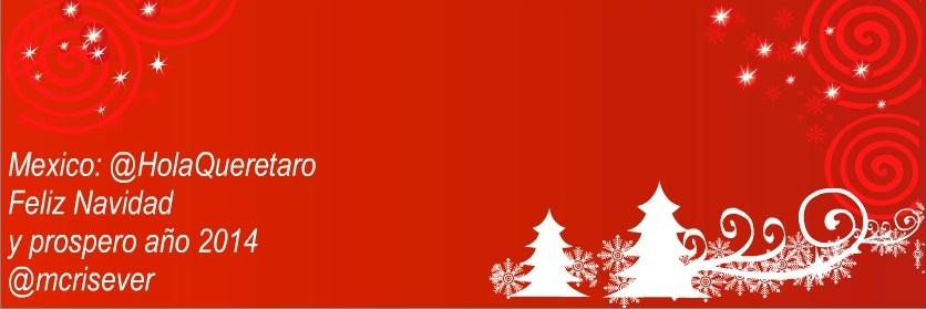 Saludo de Chris Severini para las Fiestas Decembrinas