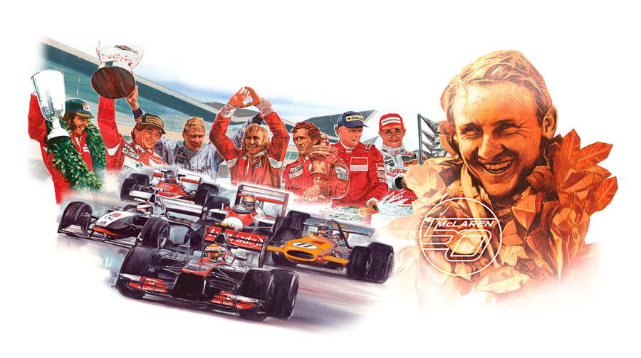 McLaren: 50 años