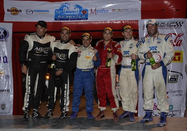 Cordero gana el Rally Acapulco, pero es penalizado