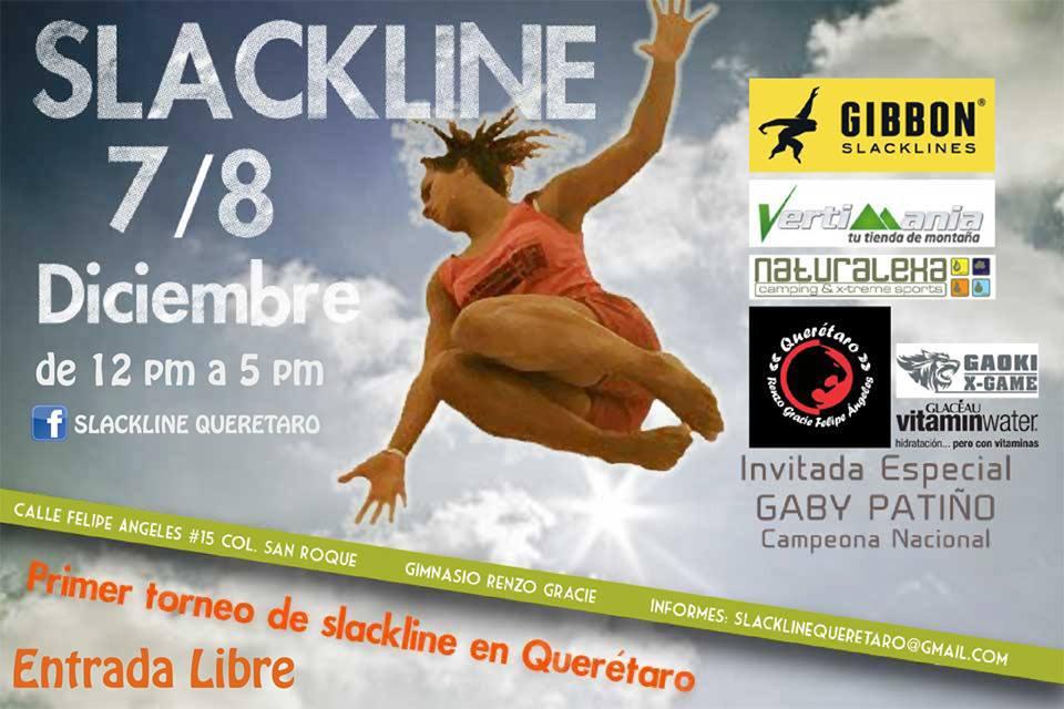 Primer Torneo de Slackline en Querétaro