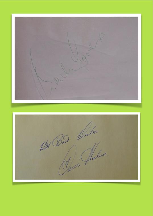 Bruce McLaren Autografo