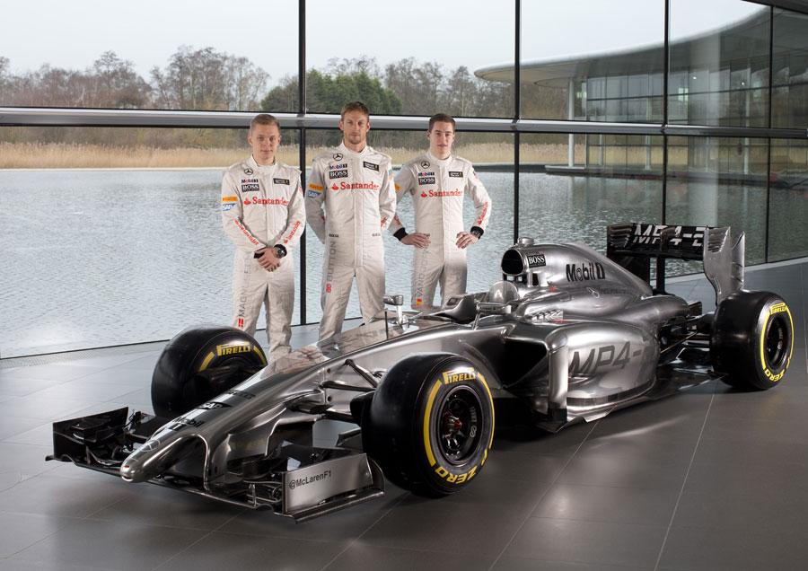 McLaren Mercedes MP4-29 F1- 2014