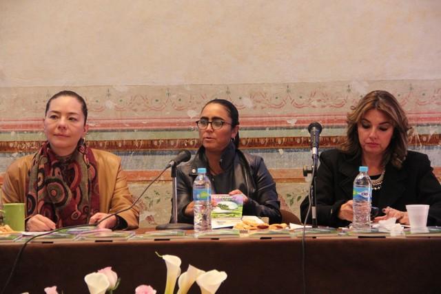 """Presentación del libro """"México Proyecto Verde"""", de Teresa Calzada Rovirosa"""