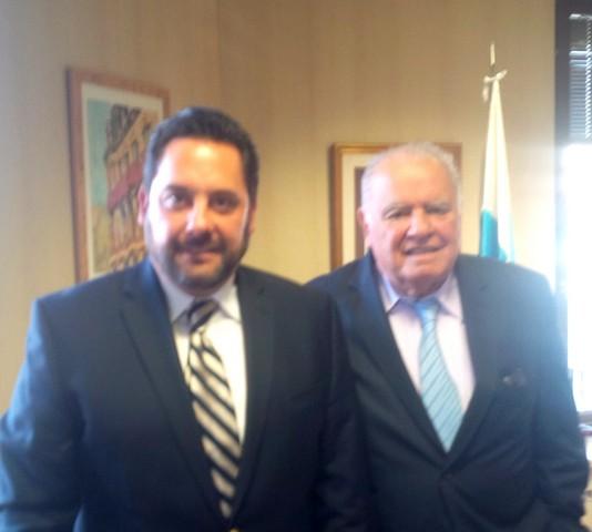 Se reúne el Secretario de Turismo de Querétaro con el Secretario General de la  Cumbre Iberoamericana