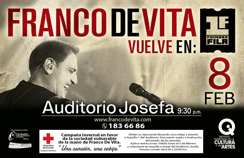 Una canción, una cobija: Franco de Vita en Querétaro