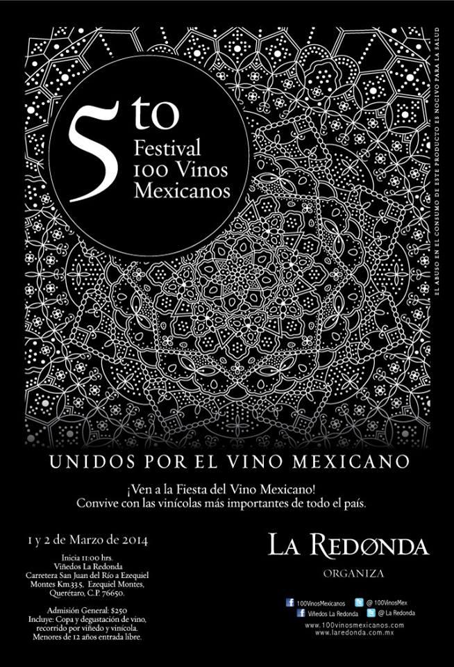 5to Festival 100 Vinos Mexicanos en Viñedos La Redonda