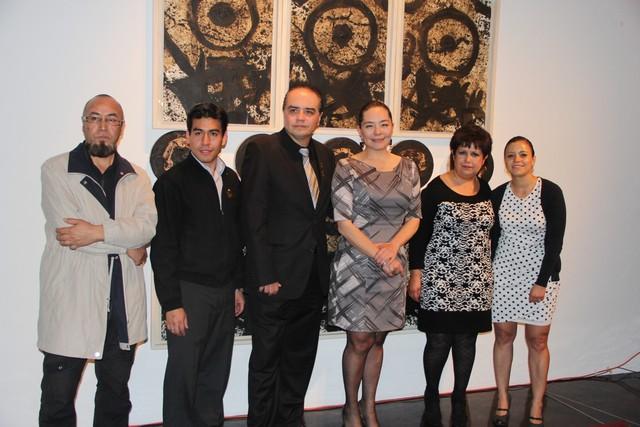 """Inaugura Directora General del IQCA exposición """"60 Años de Arte Universitario"""""""
