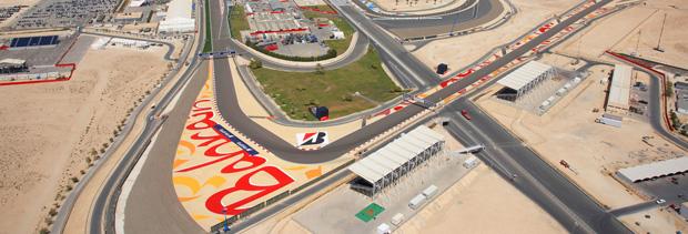 Bahrain, Bic Circuit banner