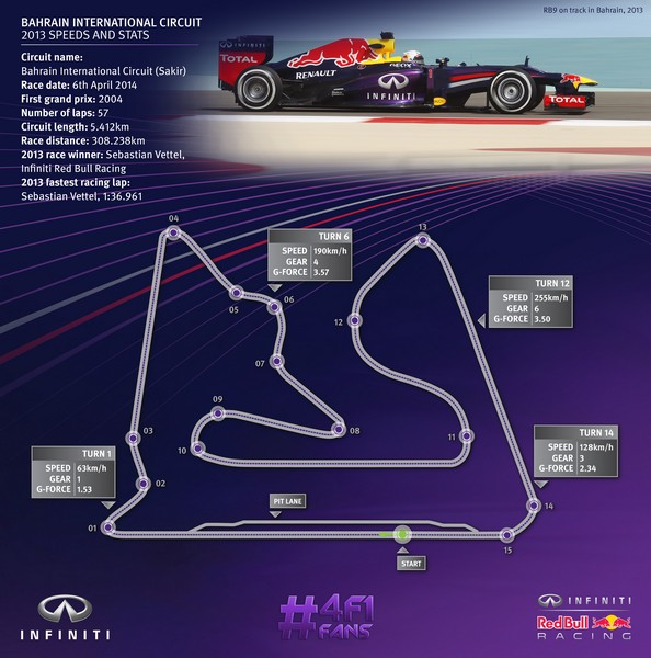Bahrain Test 2014 F1 - Infiniti - Red Bull Racing (10)