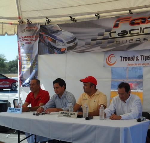 Se presento el FAST RACING en San Luis Potosi en el Tangamanga II